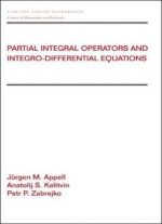 Partial Integral Operators And Integro-differential Equations