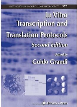 Download In Vitro Transcription & Translation Protocols (2nd Edition)