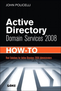 Download ebook Active Directory Domain Services 2008 How-To