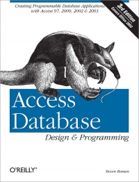 Download ebook Access Database Design & Programming, 3rd Edition