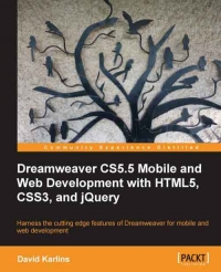 Download Dreamweaver CS5.5 Mobile & Web Development with HTML5, CSS3, & jQuery