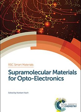Download Supramolecular Materials For Opto-electronics