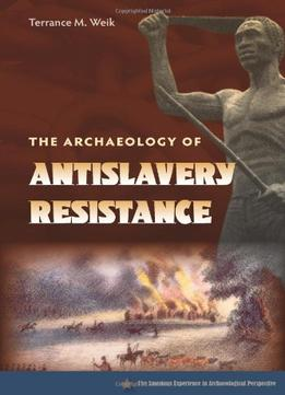 Download The Archaeology Of Anti-slavery Resistance