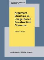 Argument Structure In Usage-based Construction Grammar(Constructional Approaches to Language)