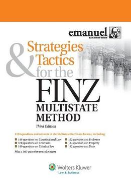 Download Strategies & Tactics For The Finz Multistate Method, 3rd Edition