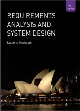 Download Requirements Analysis & Systems Design (3rd Edition)