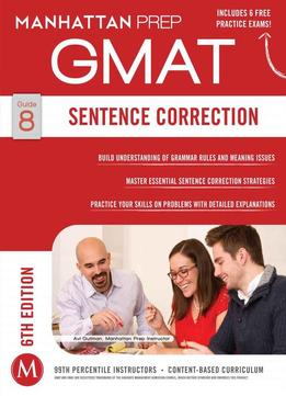 Download Gmat Sentence Correction, Sixth Edition