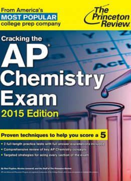 Download Cracking The Ap Chemistry Exam, 2015 Edition