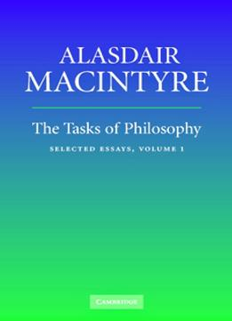 Download The Tasks of Philosophy: Volume 1: Selected Essays