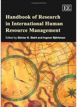 Download Handbook Of Research In International Human Resource Management