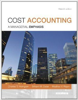 Download Cost Accounting (15th edition)
