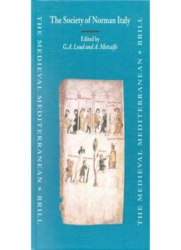 Download The Society Of Norman Italy (medieval Mediterranean)