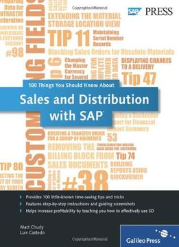 Download Sales & Distribution With Sap