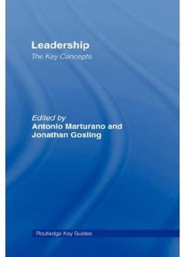 Download Leadership: The Key Concepts