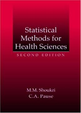 Download Statistical Methods For Health Sciences