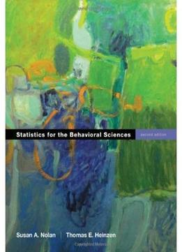 Download Statistics For The Behavioral Sciences, 2 Edition