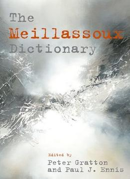 Download The Meillassoux Dictionary
