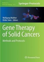 Gene Therapy Of Solid Cancers: Methods And Protocols