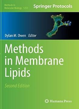 Download Methods In Membrane Lipids (2nd Edition)