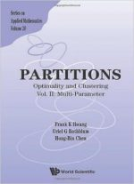 Partitions : Optimality And Clustering : Vol Ii: Multi-parameter