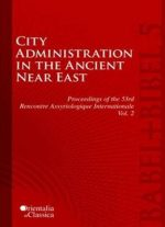 City Administration In The Ancient Near East