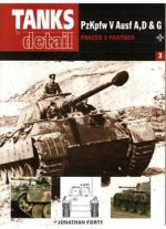 Pzkpfw V Ausf A, D & G. Panzer V Panther (tanks In Detail №3)