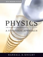 Physics for Scientists and Engineers: A Strategic Approach with Modern Physics, 2rd Edition