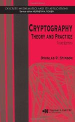 Cryptography: Theory and Practice (3rd Edition)