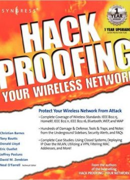 Download ebook Eric Ouellet - Hackproofing Your Wireless Network