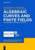 Algebraic Curves and Finite Fields: Cryptography and Other Applications