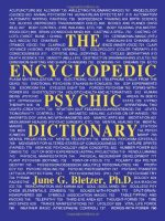 The Encyclopedic Psychic Dictionary