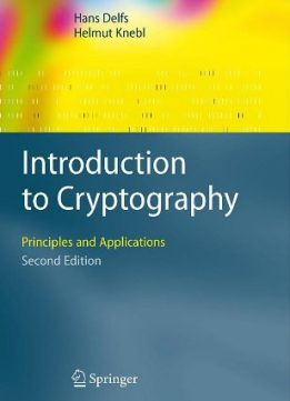 Download ebook Introduction to Cryptography: Principles & Applications