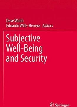 Download ebook Subjective Well-Being & Security