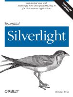 Essential Silverlight by Christian Wenz