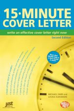 15-Minute Cover Letter: Write an Effective Cover Letter Right Now, 2 edition