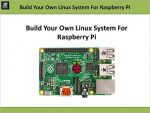 Build Your Own Linux System For Raspberry Pi (Embedded Development)