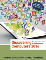 Discovering Computers 2016 (Shelly Cashman)