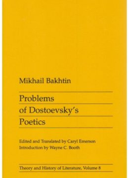 Download ebook Problems of Dostoevsky's Poetics