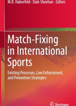 Download ebook Match-Fixing in International Sports