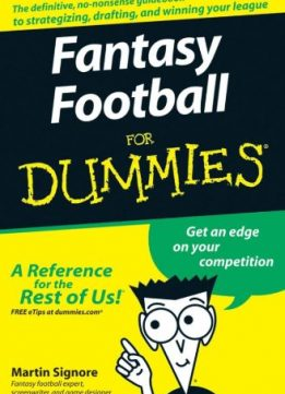 Download ebook Fantasy Football For Dummies