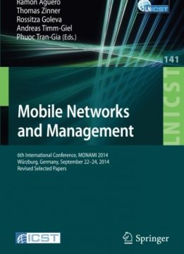 Download Mobile Networks & Management: 6th International Conference, v. 141