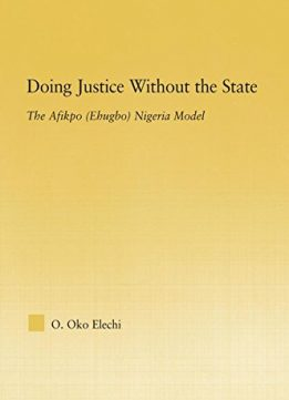 Download ebook Doing Justice without the State
