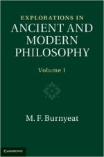 Explorations in Ancient and Modern Philosophy