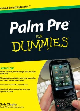 Download Palm Pre For Dummies by Chris Ziegler