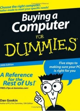 Download Buying a Computer For Dummies (For Dummies (Computers))