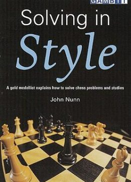 Download ebook Solving in Style by John Nunn