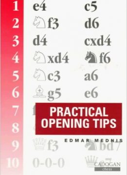 Download ebook Practical Opening Tips (Cadogan chess series)