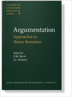 Argumentation: Approaches to Theory Formation