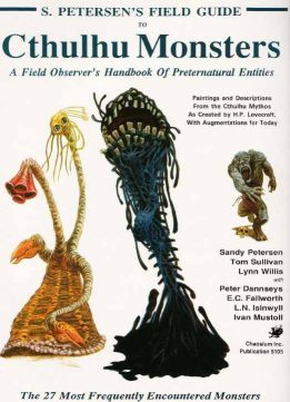 Download ebook Petersen's Field Guide to Cthulhu Monsters