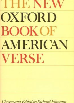 Download ebook The Oxford Book of American Light Verse